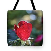 Red Saturated Tote Bag