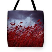 Red Sea Oats Blow In The Wind Tote Bag
