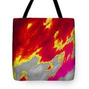 Red Sky Tote Bag