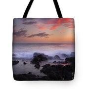 Red Sky Paradise Tote Bag