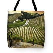 Red Soles Vineyard Tote Bag