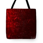 Red Sparkle Tote Bag