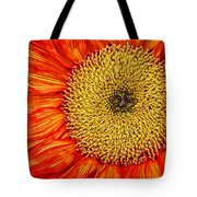 Red Sunflower Iv Tote Bag