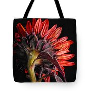 Red Sunflower X Tote Bag