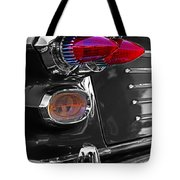 Red Tail Lights Tote Bag