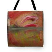 Red Tide White Tote Bag