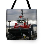 Red Tug Tote Bag