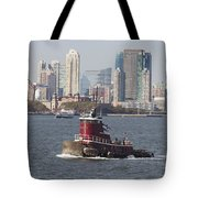 Red Tug Two Tote Bag