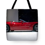 Red Vette Tote Bag