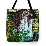 Red Vine Shed Tote Bag