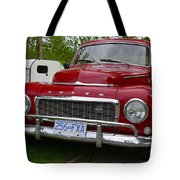 Red Volvo Tote Bag