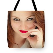 Red White And Blue II Tote Bag
