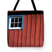 Red White And Blue Window Tote Bag