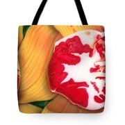 Red White And Yellow Tote Bag