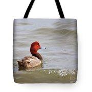 Redhead Duck Tote Bag