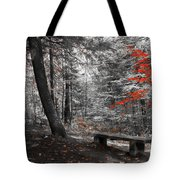 Reds In The Woods Tote Bag