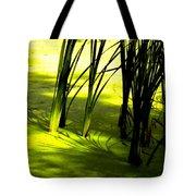 Reeds In Pond Tote Bag