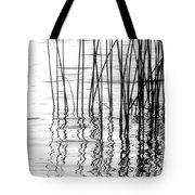 Reeds On The Turtle Flambeau Flowage Tote Bag