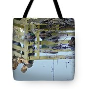 Reflected In A Memory Tote Bag