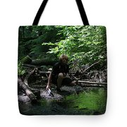 Reflected In Green Tote Bag