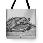 Reflecting Circle Tote Bag