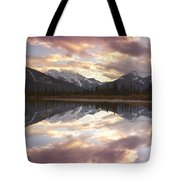 Reflecting Mountains Tote Bag