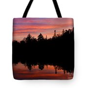 Reflecting Sunset Tote Bag