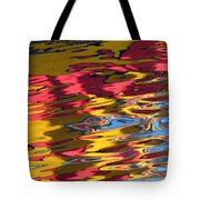 Reflection Abstraction Tote Bag
