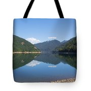 Reflection At The Reservoir Tote Bag