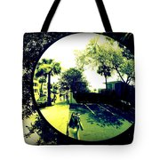 Reflection Of A Photographer Tote Bag
