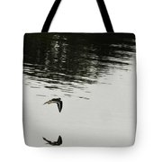 Reflection Of Flight Tote Bag