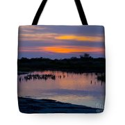 Reflection Of The Sunset Tote Bag