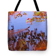 Reflections And Currents Tote Bag