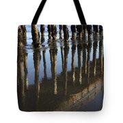 Reflections Avila Beach California Tote Bag