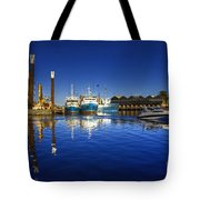 Reflections At Freemantle Tote Bag