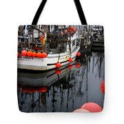 Reflections At French Creek Tote Bag by Bob Christopher