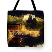 Reflections Golden Morning Tote Bag by Barbara Griffin
