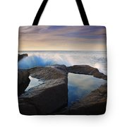 Reflections In Monument Cove Tote Bag