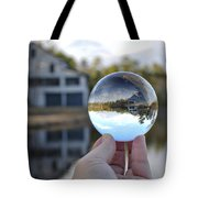 Reflections Of A Beautiful Day Tote Bag