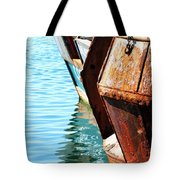 Reflections Of A Rust Bucket Tote Bag