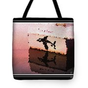 Reflections Of An Orca In Stained Glass Tote Bag