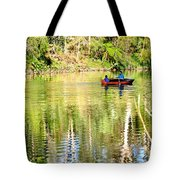 Reflections Of Fathers' Day Tote Bag