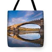 Reflections On Fernbridge Tote Bag
