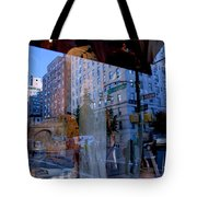 Reflections On Madison Avenue Tote Bag