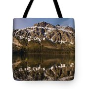 Reflections On Red Eagle Mountain Tote Bag