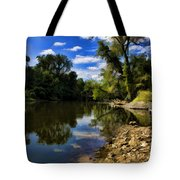 Reflections On The Kankakee Tote Bag