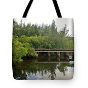 Reflections On The North Fork River Tote Bag