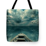 Reflections On The Sea Tote Bag