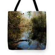 Reflective River Thoughts Tote Bag