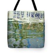 Reflective Water Abstract Tote Bag